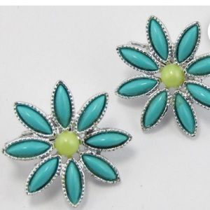 """""""Daisy time"""" earrings from 1960's"""